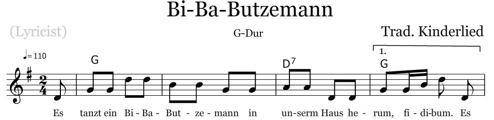 G Dur Gitarre